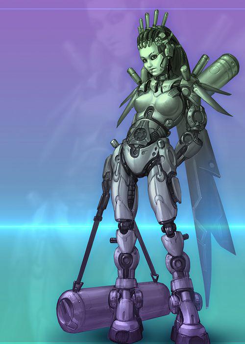 史上最销魂美女机器人