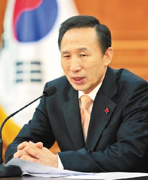 盘点 李明博对朝鲜半岛的最新主张
