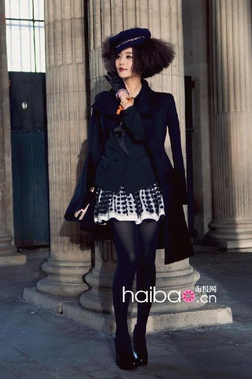 范冰冰@2010秋冬巴黎时装周秀场外街拍-2011年的时装周上你还期待图片