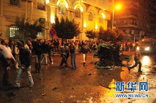 埃及教堂恐袭已致21人死亡 总统呼吁各方团结