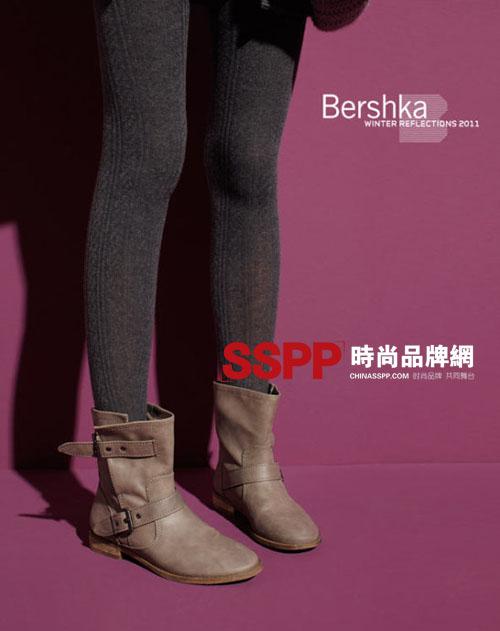 街头风格 时尚潮流 Bershka2011冬季女靴流行趋势