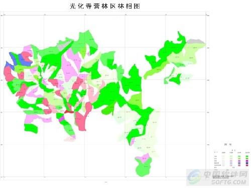 实现了森林资源规划管理的高效成图输出;在严格遵守