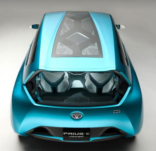 明年上半年量产 丰田发布prius c概念车