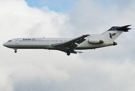 伊朗航空公司波音727客机(资料图片)