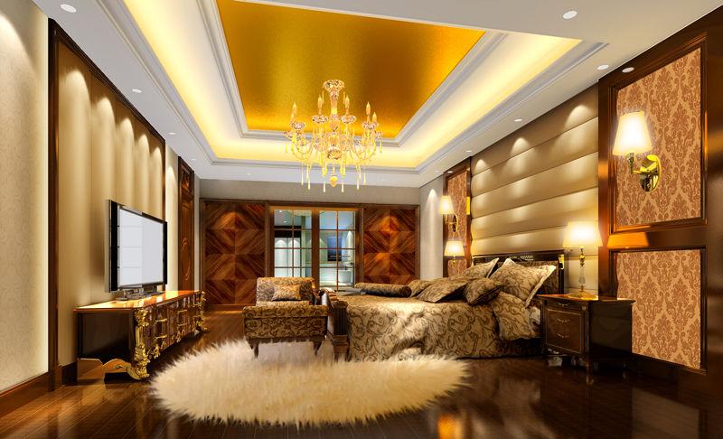 金碧辉煌欧式奢华家-房产频道-和讯网