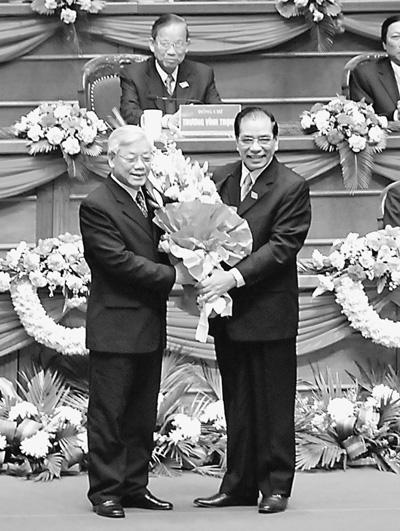越南新一届中央委员会新人近一半 - 看越南 - 潘金娥的博客