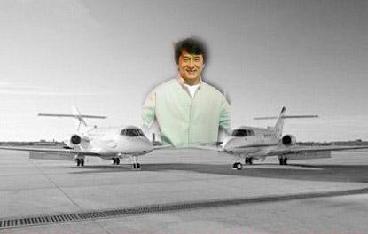 明星私人飞机大比拼