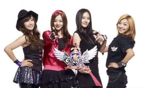 韩国女星扎堆代言网游 据称在线人数激增(201