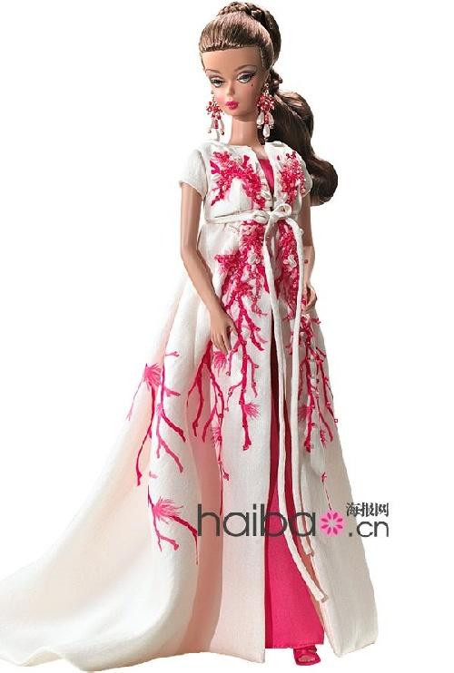 收藏版芭比娃娃(barbie doll),各个绝美礼服加持惊艳你眼!