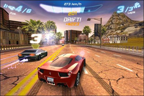 iphone赛车游戏大作《asphalt 6》发售