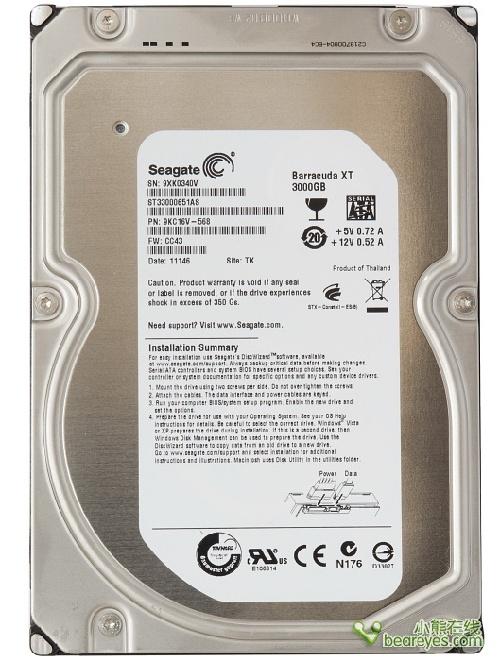 127387867 - 别惹小三:主流3TB容量硬盘横向测试