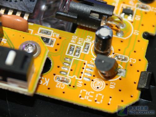 ec1鼠标主电路板上的空位
