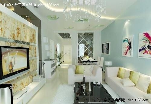个性 前卫 2011年最新客厅装修效果图赏