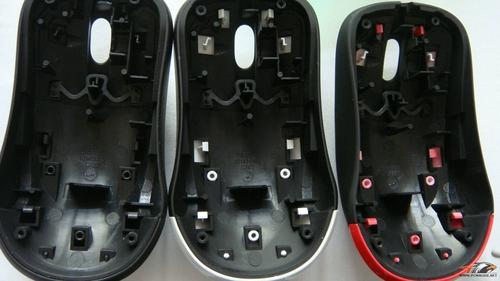 仅外观不同?3色赛睿kinzu鼠标拆解评测