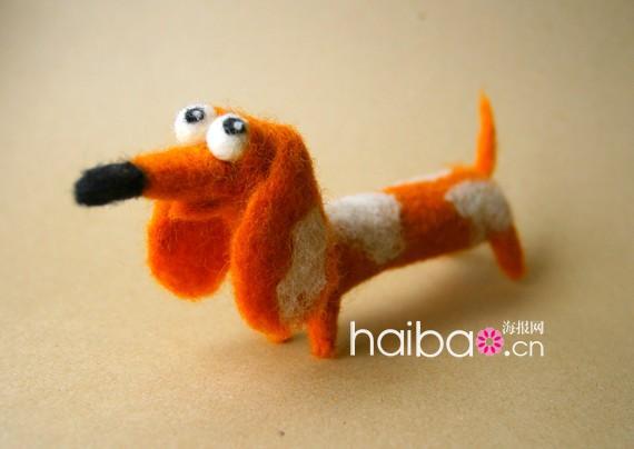 毛茸茸,软乎乎,可爱满分的羊毛毡小动物又来啦!