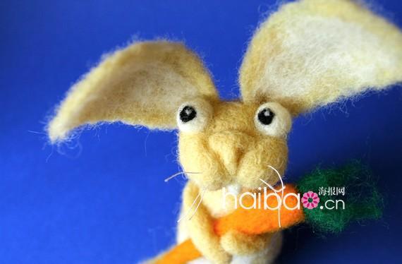 毛茸茸,软乎乎,可爱满分的羊毛毡小动物又来啦!国外的