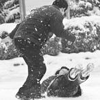 河北男子雪天滑倒致死