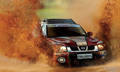 汽车滚动新闻 正文  帕拉丁凭惜在达喀尔拉力赛上的出色表现.