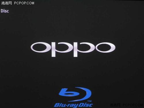 接下来启动oppo bdp-93蓝光碟机,开机画面非常大气.图片