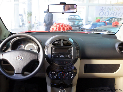 熊猫的全系车型上也是标准配置.   如果你看重小车的安全性,
