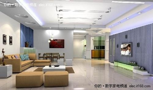 简约时尚个性 48款最新客厅装修效果图