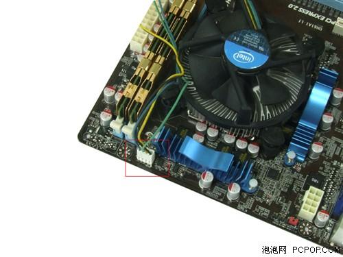 主板CPU风扇供电接口-智能温控 PWM智能控转实测