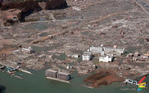 地震,海啸,核泄漏——日本大地震全景图片