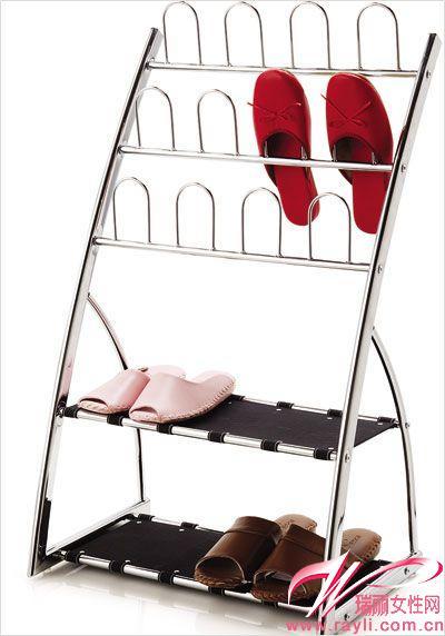 布衣柜鞋架组装步骤图