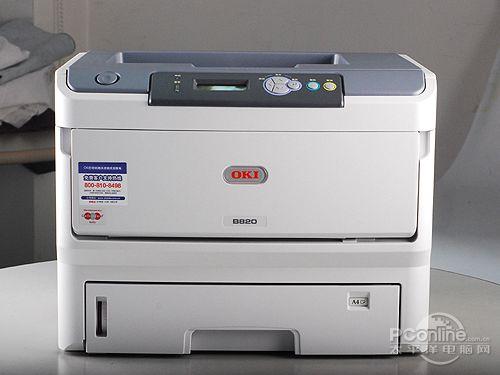 实测35页/分 oki 820dn黑白led打印机评测