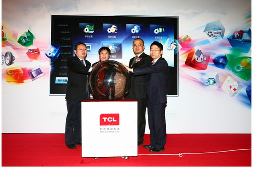 TCL超级智能互联网3D电视在京全球首发-科技频道-