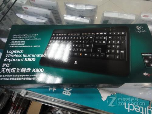 无线背光高品位 罗技K800键盘春季热销