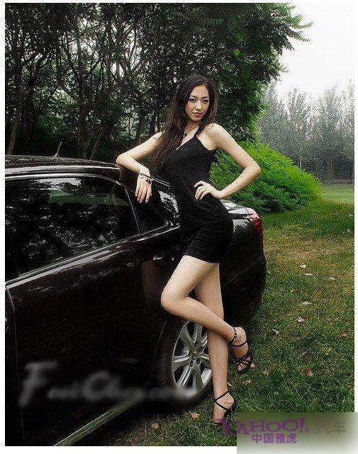 长腿美女气质优雅