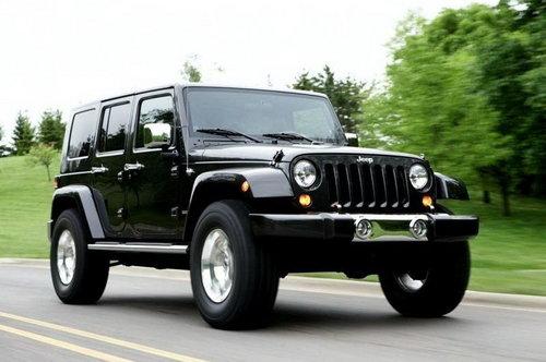 配V8发动机 Jeep有望推出牧马人SRT8高清图片