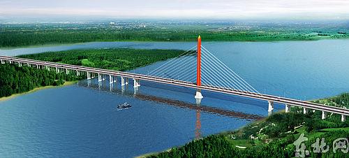 """黑瞎子岛上的建设者——把乌苏大桥建设成连接亚欧的"""""""