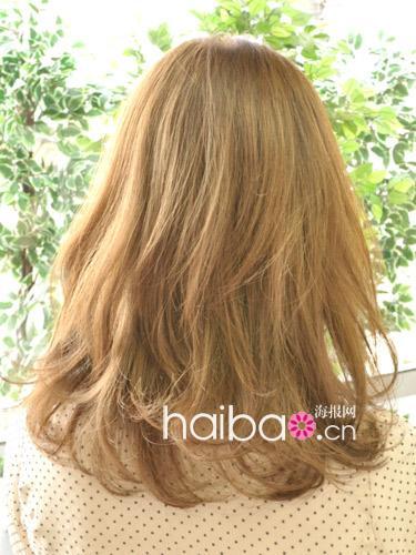 流行中卷发发型图片大全 中长发卷发发型 缔结深