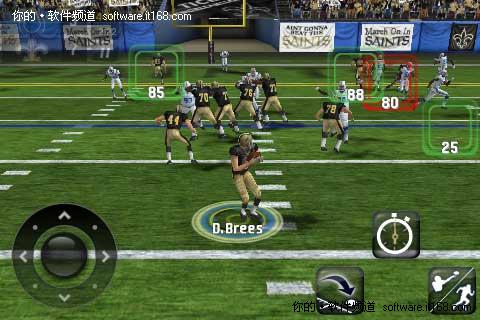 全3D效果 Android超真实游戏美式橄榄球