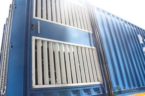 气候进行独特的冷却系统设计,如果集装箱数据中心内温度低于25摄氏度