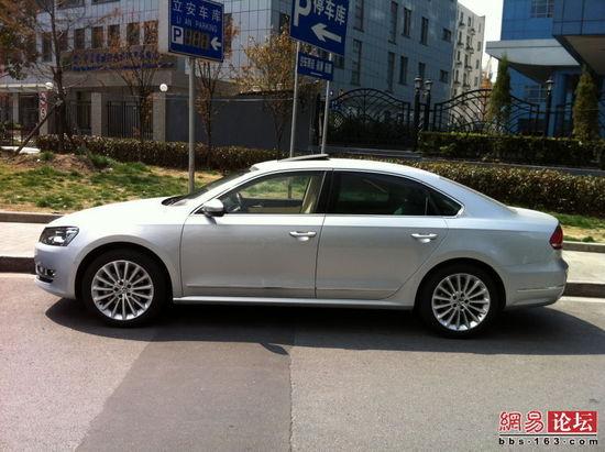 或推3.0L V6车型 上海大众帕萨特配置曝光
