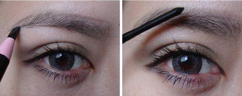 如何画彩妆步骤图解
