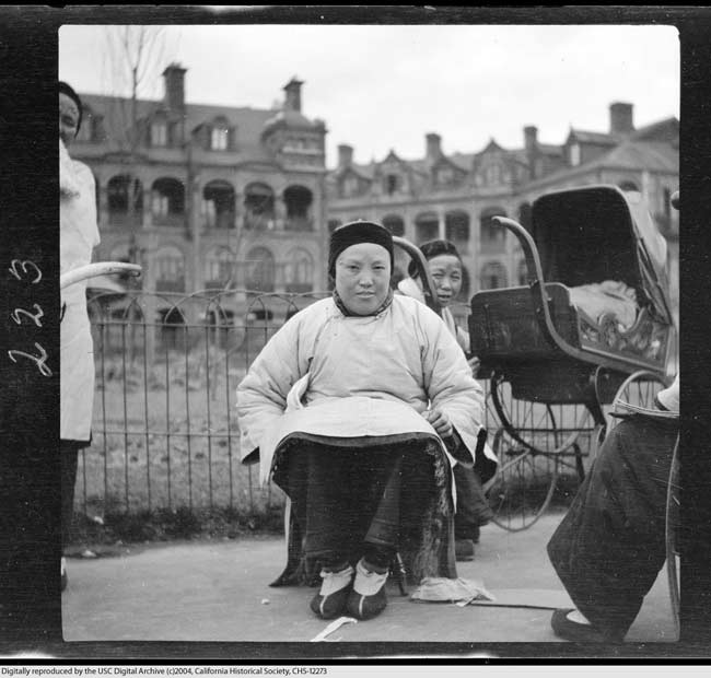美大学珍藏的晚清中国照