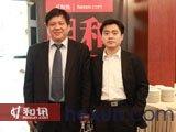 北京期货商会会长王化栋与和讯网副总编辑江海波