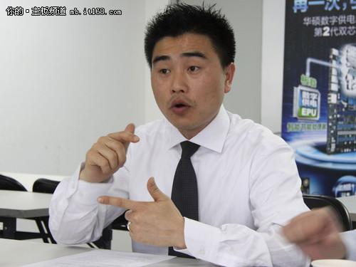 华硕电脑中国业务总部开放平台事业群总经理 赖洪瑞先生