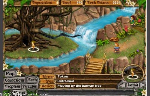 1 游戏简介: 生命之树继续着神秘岛屿的故事,在岛上部落中的村民开始