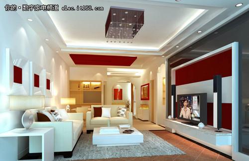 客厅装修必看 简约电视背景墙效果图赏