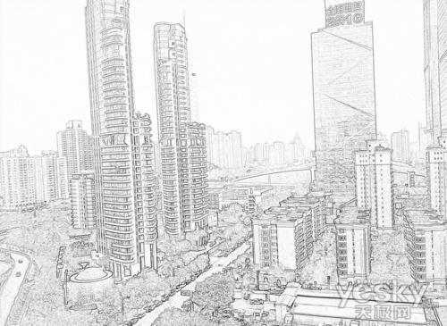 简笔画 手绘 素描 线稿 500_365图片