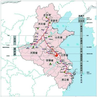 齐步走更难八省市35个城市需要同心协力   2006年,国务院将京杭大运河图片