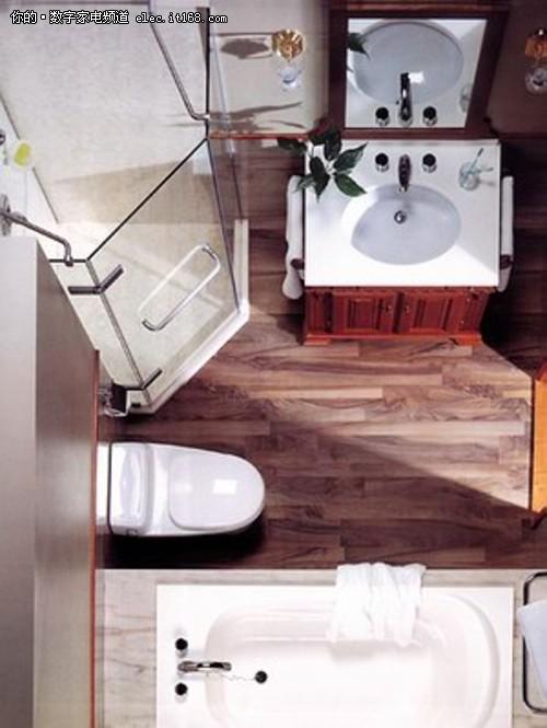极富现代感 小面积浴室装修效果多图赏高清图片