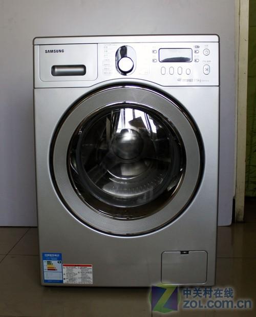 三星wd8754cjz滚筒洗衣机实拍