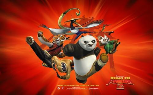 功夫熊猫2 电影高清壁纸