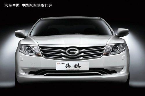 官方发布的广汽传祺外观图 广汽三剑客之 传祺 登陆津门 高清图片